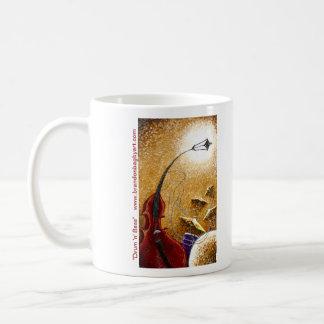 """Taza de café baja del tambor """"n"""""""