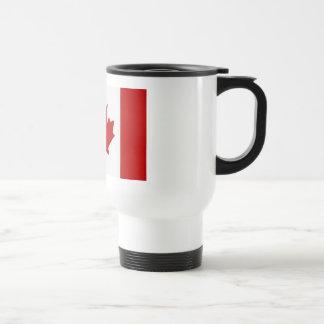 Taza de café canadiense de la bandera