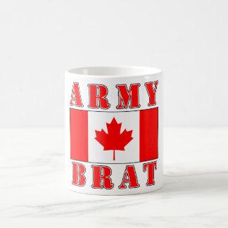 Taza de café canadiense del palo de golf del