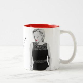 Taza de café candente