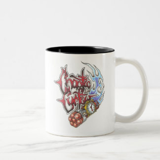 Taza de café caótica