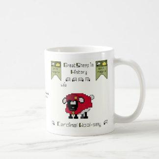 Taza de café cardinal de las Lanas-sey