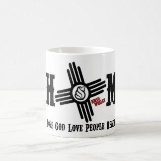 Taza de café casera