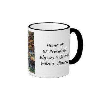 Taza de café - casera de Ulises S Grant, galena, e