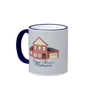 Taza de café casera dulce de Alabama