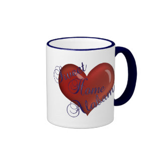 Taza de café casera dulce de Alabama Alabama