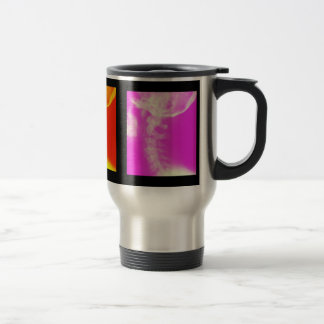 Taza de café cervical del viaje de la quiropráctic