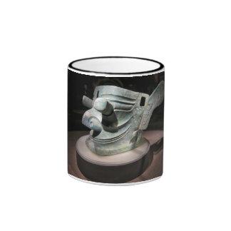 Taza de café china antigua de la reliquia