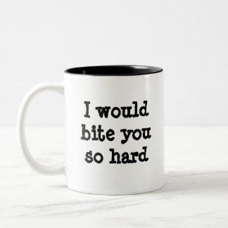 Taza de café chistosa del pastor alemán