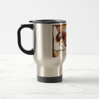 taza de café científica de la hormiga