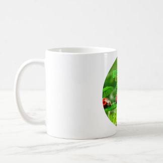 Taza de café clásica con el logotipo de