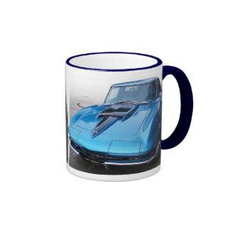Taza de café clásica del coche del músculo del Cor