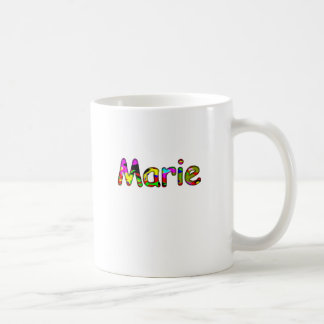 Taza de café clásica del estilo de Marie