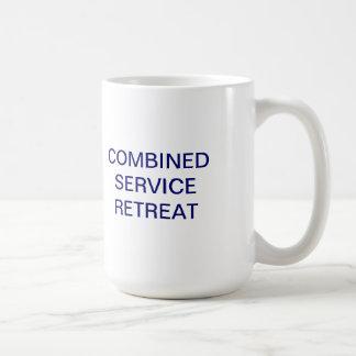 Taza de café combinada del retratamiento del