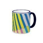 Taza de café con diseño de la arquitectura