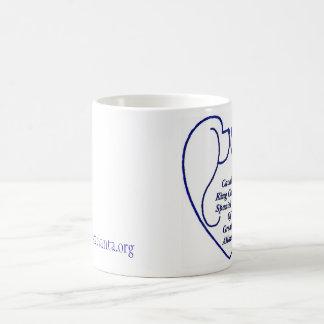 Taza de café con el logotipo del club