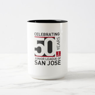 Taza de café conmemorativa del aniversario de JLSJ