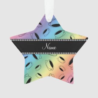 Taza de café conocida personalizada del arco iris