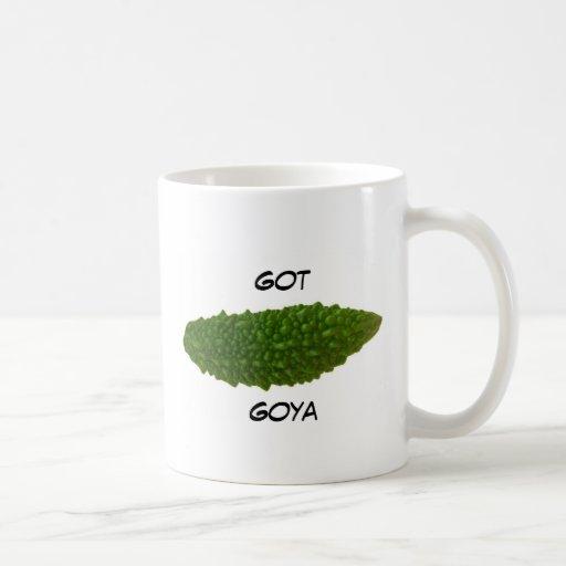 Taza de café conseguida de Goya