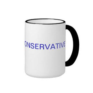 Taza de café conservadora orgullosa