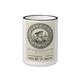 "Taza de café corte de marina de guerra"" del"