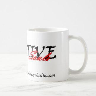 Taza de café creativa de la revista de las almas