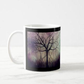 Taza de café crepuscular