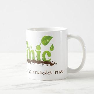 Taza de café cristiana orgánica
