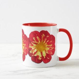 Taza de café - dalias de StarSister