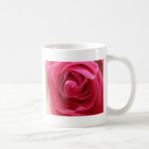 taza de café de 11 onzas - color de rosa rosado de