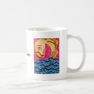 Taza de café de #1 Goldfisher