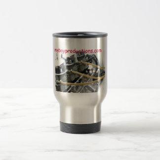 Taza de café de 3 carburadores