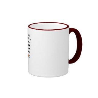 Taza de café de 7 pecados mortales