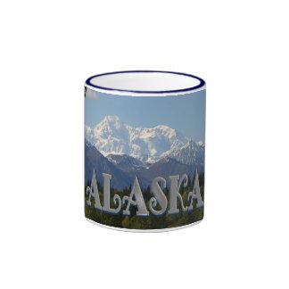Taza de café de Alaska el monte McKinley