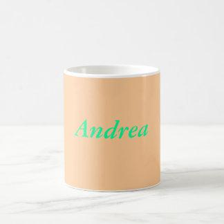 Taza de café de Andrea