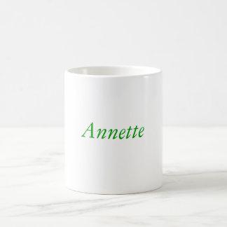 Taza de café de Annette