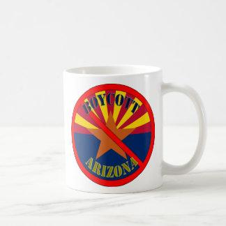 Taza de café de Arizona del boicoteo