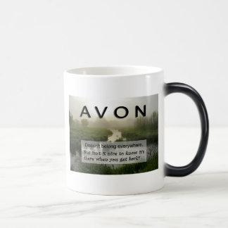Taza de café de AVON