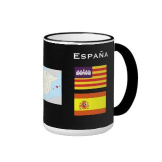 Taza de café de Balearic Island * de España