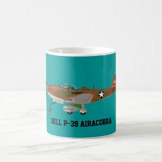 Taza de café de Bell P39 Airacobra Bell Airacobra