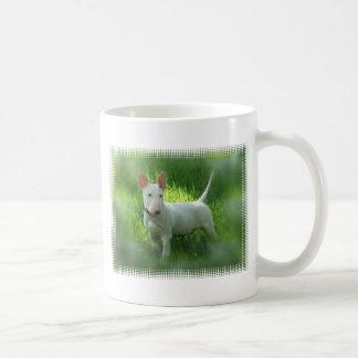 Taza de café de bull terrier