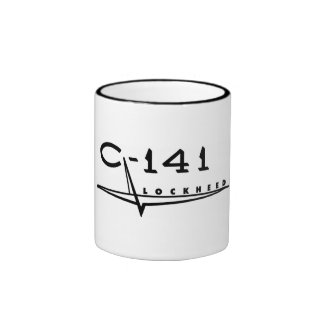Taza de café de C-141 Starlifter