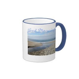 Taza de café de California de la playa de Venecia