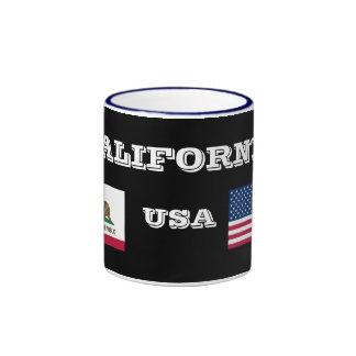 Taza de café de California* los E.E.U.U.