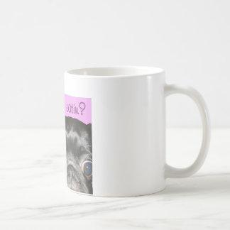 Taza de café de cerámica de Whatcha Eatin