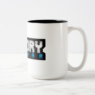 taza de café de cerámica del Dos-tono