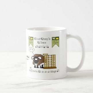 Taza de café de Charles B-a-a-a-bbage