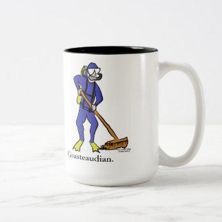 Taza de café de Cousteaudian