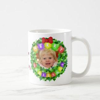 Taza de café de cristal del amor de encargo del