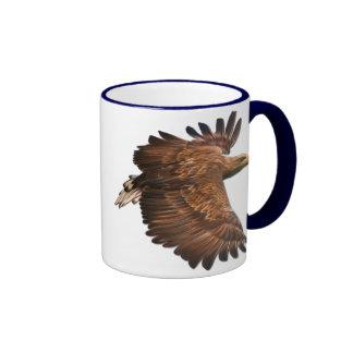 Taza de café de Eagle en vuelo